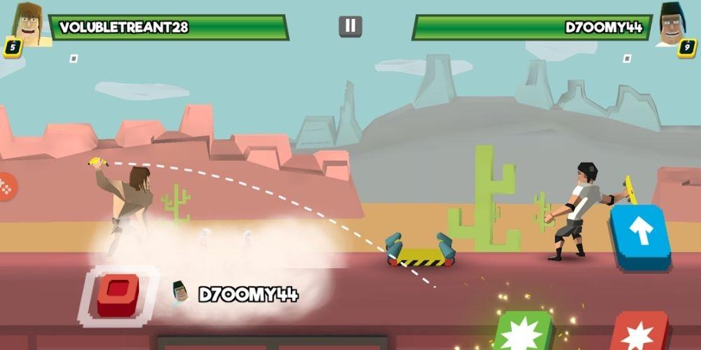 Game Fling Fighter Multiplayer Offline