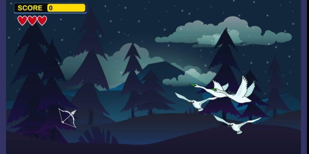 Game Memanah Burung Seru