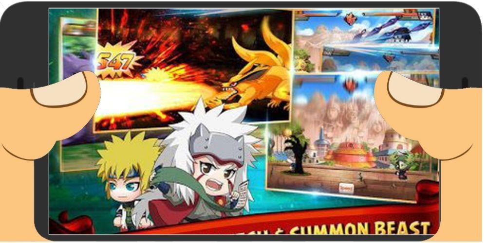 Game Naruto Online Seru