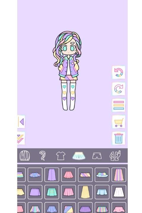 Pastel Girl Dress Up Game