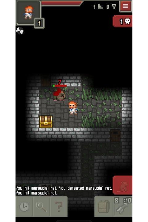Pixel Dungeon Size Kecil