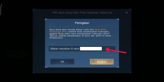 ID Akun Mobile Legends